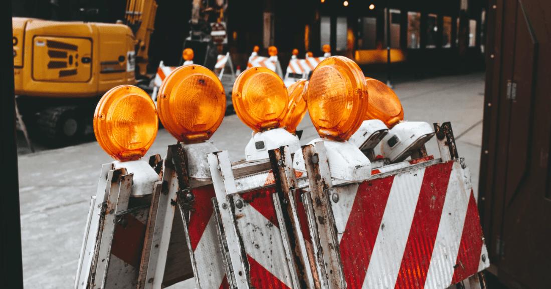 Beim Bau geht die Sicherheit immer vor