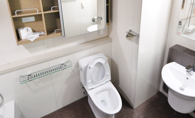 Praktische Umrüstung des WCs